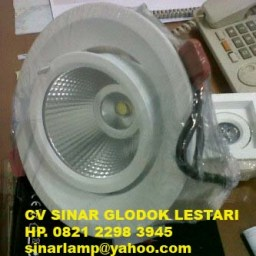 Downlight Keong LED adjustable 15w Benelux 3000k dan 5000k OK